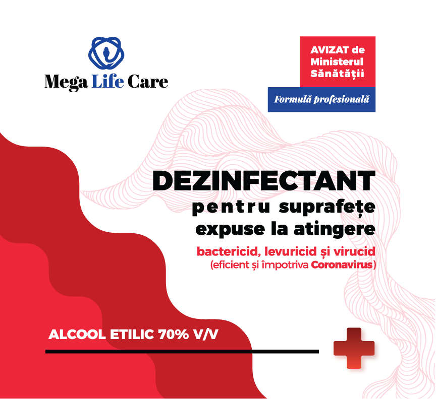 Dezinfectant Suprafete Expuse La Atingere